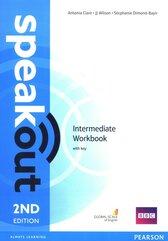 Speakout 2nd Edition Intermediate Workbook with key