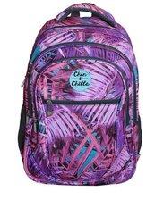 Plecak trzykomorowy Liście Palmy CHIN&CHILLA