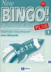 New Bingo! 1 Plus Reforma 2017 Materiały ćwiczeniowe z płytą CD