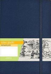 Notes A5 Gładki Romantyzm Granatowy ANTRA