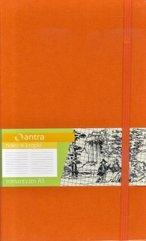 Notes A5 Kropki Romantyzm Pomarańczowy ANTRA
