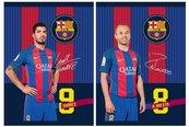 Zeszyt A5/60k linia FC Barcelona 5 (10szt) ASTRA