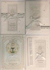 Karnet Komunia ręcznie robiony C5 + koperta