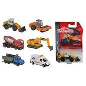Pojazdy budowlane, 6 rodzajów