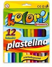 Plastelina 12 kolorów PENMATE