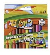 Kredki świecowe Jumbo 12 kolorów PENMATE