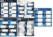 Naklejki na zeszyty RM-107 Real Madrid 3 (50szt)