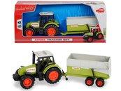 Claas Traktor z przyczepą