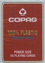 Karty do gry Copag 100% plastic Regular index