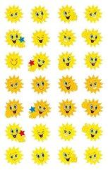 Naklejki papierowe - słoneczka
