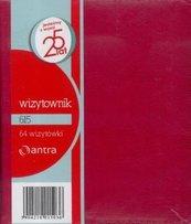 Wizytownik 64 dwuklatkowy 615 czerwony ANTRA