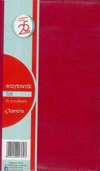 Wizytownik 96 trzyklatkowy 728 czerwony ANTRA