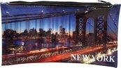 Piórnik PP z nadrukiem na suwak New York