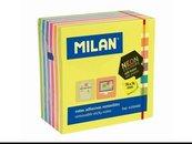 Karteczki samoprzylepne neon mix 76x76/400K MILAN