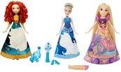 Lalka Księżniczka - Magiczna sukienka, różne rodz.