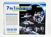 Robot Solarny 7 w 1 kosmiczna flota