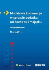 Modelowa konwencja w sprawie podatku od dochodu...