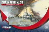 """Okręt Artyleryjski ORP """"MAZUR"""" wz 39"""