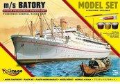 """Statek Pasażersko - drobnicowy m/s """"BATORY"""""""