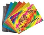 Zeszyt papierów kolorowych A5 samoprzylepny