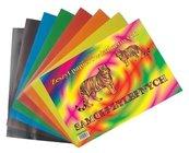 Zeszyt papierów kolorowych A4 samoprzylepny