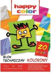 Blok techniczny kolor A4/20K HAPPY COLOR