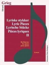 Grieg. Lyrische Stucke II fur Klavier