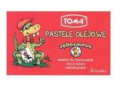 Pastele olejowe De Luxe 12 kolorów TOMA