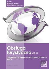Obsługa turystyczna cz.III Organizacja imprez..T.3