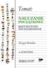 Nauczanie Początkowe. Kszt. zint. nr.3 2015/2016