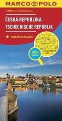 Mapa ZOOM System. Czechy 1:300 000 MARCO POLO