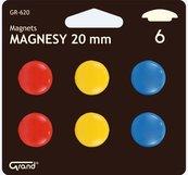 Magnesy 20mm blister 6szt GRAND