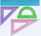 Zestaw geometryczny brokatowy GRAND
