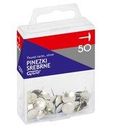 Pinezki srebrne 50szt GRAND