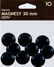Magnes 30mm czarny (10szt) GRAND