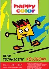 Blok techniczny kolor A4/10K HAPPY COLOR