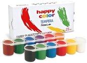 Farba plakatowa Tempera 12 kolorów HAPPY COLOR