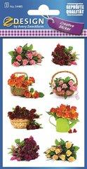 Naklejki z kwiatami - Bukiety