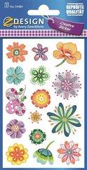 Naklejki z kwiatami - różne kwiaty