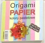 Origami papier 14x14cm pastele