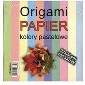 Origami papier 20x20cm pastele