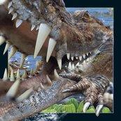 Pocztówka 3D Krokodyl