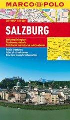 Plan Miasta Marco Polo. Salzburg