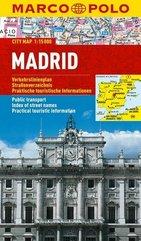 Plan Miasta Marco Polo. Madryt