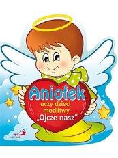 """Aniołek uczy dzieci modlitwy """"Ojcze nasz"""""""