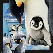 Pocztówka 3D Pingwin