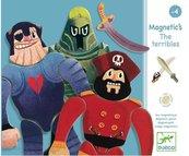 Drewniana układanka magnetyczna - Los Machos