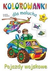 Kolorowanka dla malucha. Pojazdy wojskowe