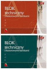 Blok techniczny kolorowy A3/10K (10szt)