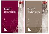 Blok techniczny A4/10K MIX (10szt)